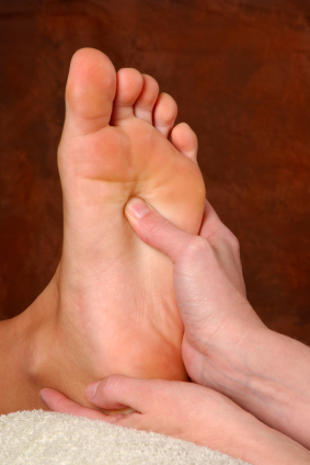 Foot Massage Routine